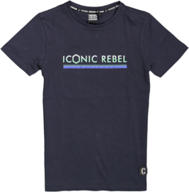 Crush Denim t-shirt Taft Navy