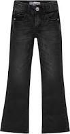 Raizzed flared jeans high waist Melbourne black