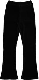 Crush Denim flair broek zwart