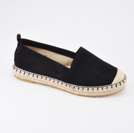 Espadrilles schoen zwart