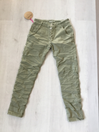 PDY pants army stretch