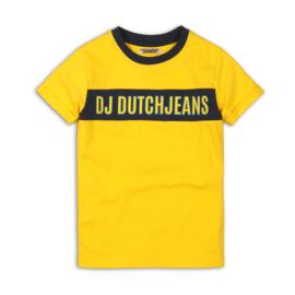 DJ Dutchjeans t-shirt Yellow
