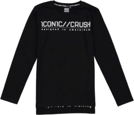 Crush Denim Longsleeve Tenson B black