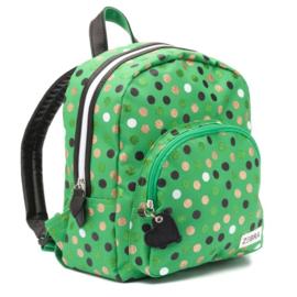 Zebra tas wild dots green girls