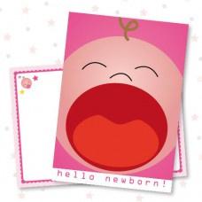 Hello Newborn Girl