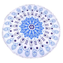 Roundie natuurlijk blauw