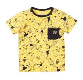 Koko Noko t-shirt Light yellow