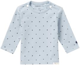 Noppies shirtje Is Novara grey blue