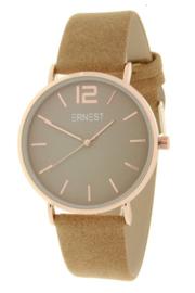 Ernest horloge Rosé-Cindy-SS19 lichtbruin