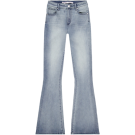 Raizzed flared jeans sunrise mid Blue stone