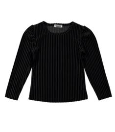 DJ Dutchjeans shirt fancy sleeves black