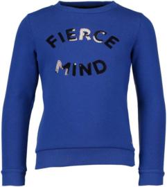 Crush Denim sweater Sahar blue