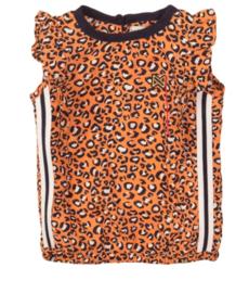 Koko Noko top Orange print panter