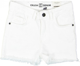 Crush Denim korte broek Daisy wit