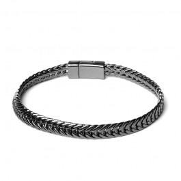 Biba armband 51962 gunmetal