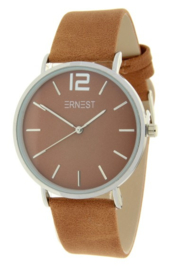 Ernest horloge Silver-Cindy-FW19 Camel