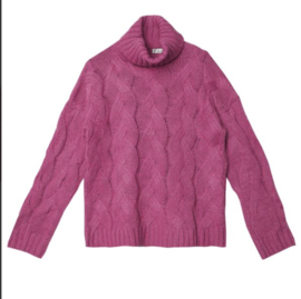 Sweater Cable knit pink