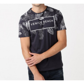 Heren t-shirt  Narton donkerblauw