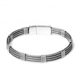 Biba armband 52774 antique silver