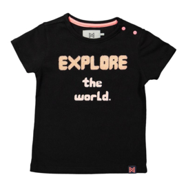 Koko Noko T-shirt explore black