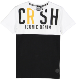 Crush Denim shirt Heaton zwart