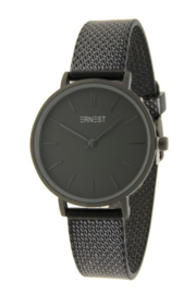 Ernest horloge Cindy shine medium zwart