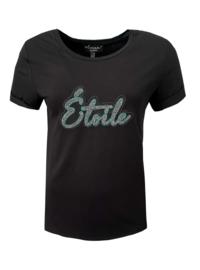 Elvira t-shirt Etoile black