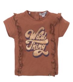 Koko Noko shirt Camel print