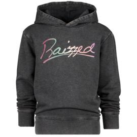Raizzed hoodie Valencia Washed black