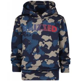 Raizzed hoodie Marsthon Dark Blue all over