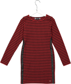 Crush Denim jurk Elba rood