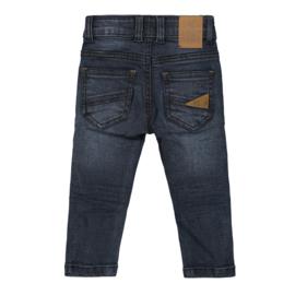 Koko Noko jeans Blue Camel print