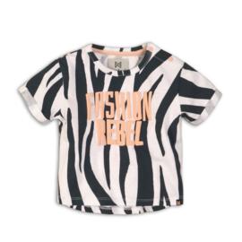 Koko Noko t-shirt Zebra