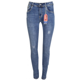 Norfy jeans navy 7153