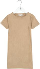Crush Denim T-shirt/ jurk Suzanne camel