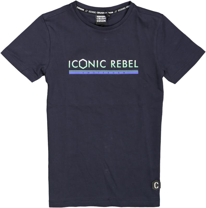 Crush Denim t-shirt Taft Navy