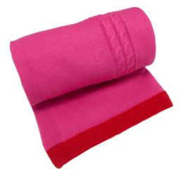 Dushi gebreide deken