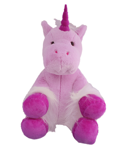 roze paarse unicorn