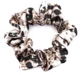 Scrunchie snake print bruin