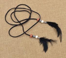 Haarband ibizastyle zwart
