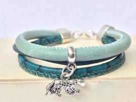 DIY Sieradenpakketje turquoise