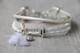 Armband ibiza wit