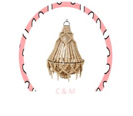 Coffee Bead Lamp