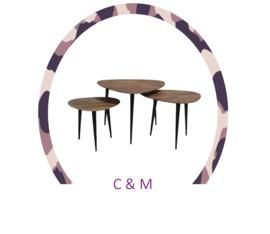Polaris tafelset (3 stuks)