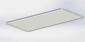 Blanc plateau 40 cm x 60 cm
