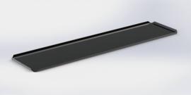 Zwarte plateau 10 x 40 cm