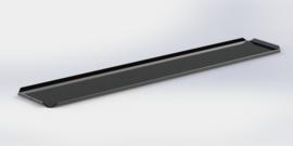 Noir plateau 10 cm x 60 cm