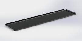 Noir plateau 15 x 50 cm
