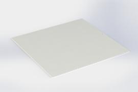 Blanche intermédiaire sans bords 15 x15 cm pour plateau pralines 16 x 16