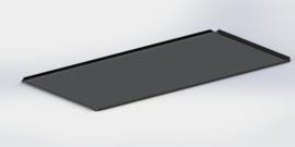 Noir plateau 40 cm x 60 cm